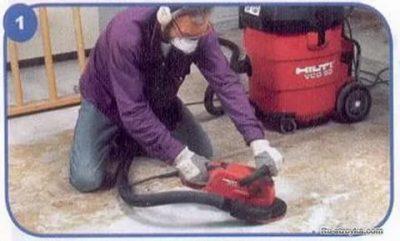 Демонтаж стяжки — инструменты, приспособления, правила и методы выполнения