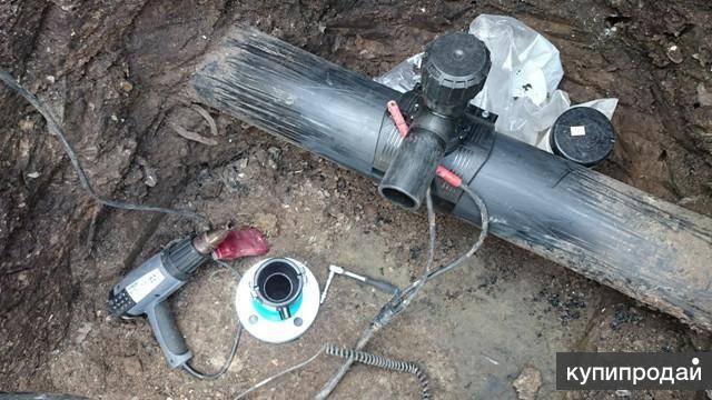 Как производится врезка в существующий водопровод под давлением