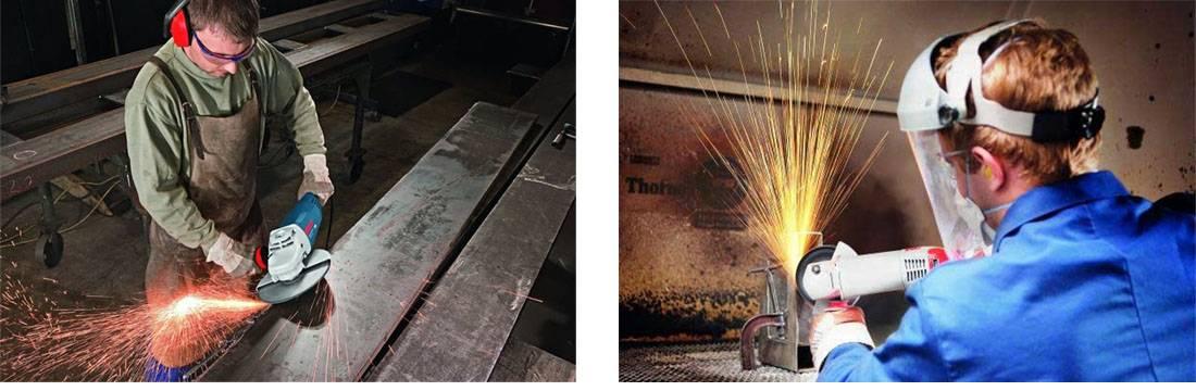 Технология резки металла болгаркой