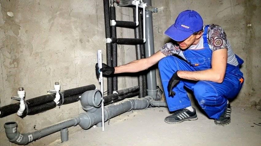 Технология и способы прокладки канализационных труб