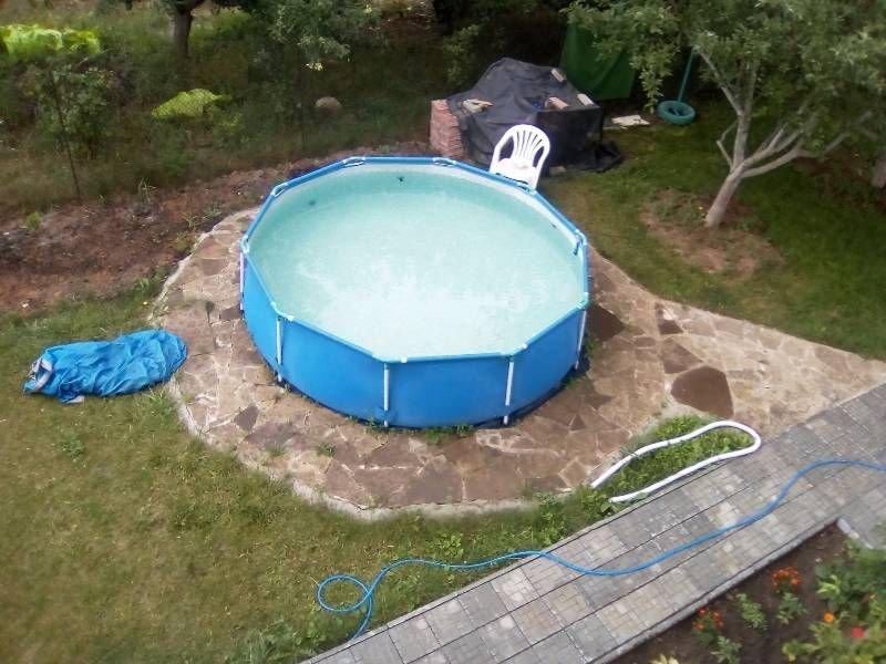 Можно ли оставить каркасный бассейн на зиму без воды. зимовка каркасного бассейна с водой на улице. можно ли оставлять каркасный бассейн на зиму наполненным?   дачная жизнь