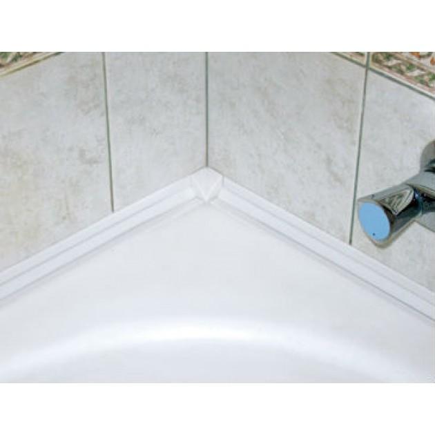 Бордюрная лента для ванной. обзор решений и виды материалов