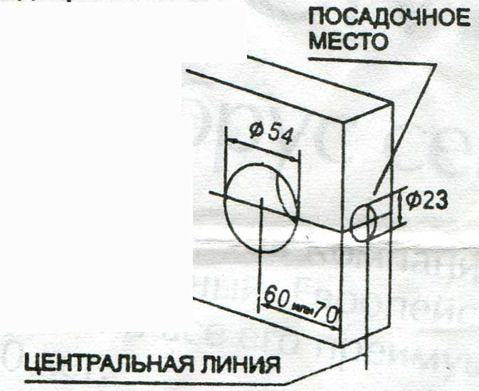 Установка дверной ручки на межкомнатную дверь пошаговая инструкция (с фото)
