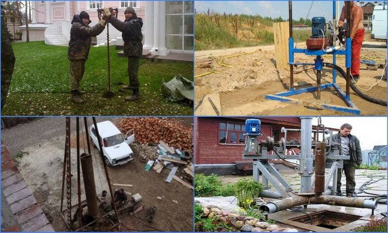 Бурение скважины на воду своими руками: подготовка, инструменты, способы и ошибки