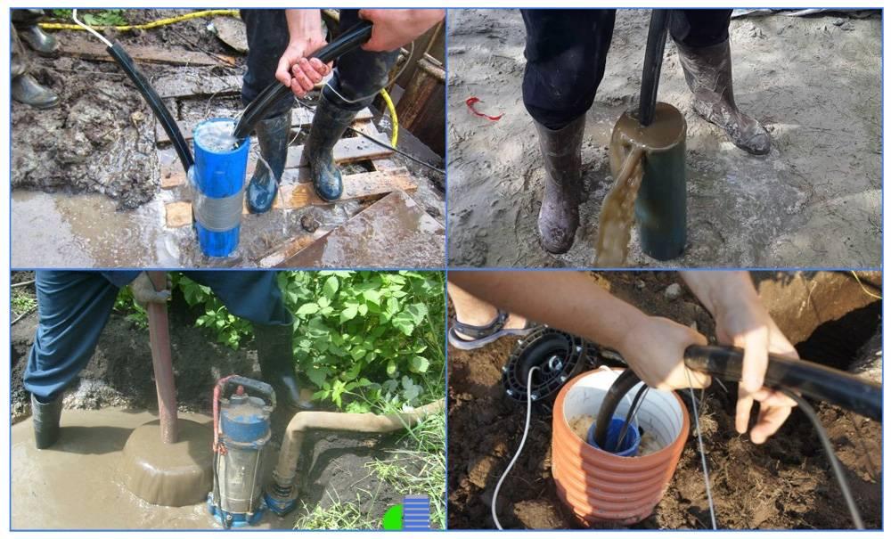 Чистка скважин: какими бывают типы колодцев, причины засорения колодцев, очистка от металла