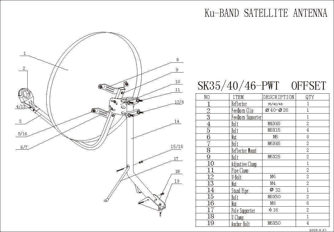 Как настроить антенну триколор тв самостоятельно?