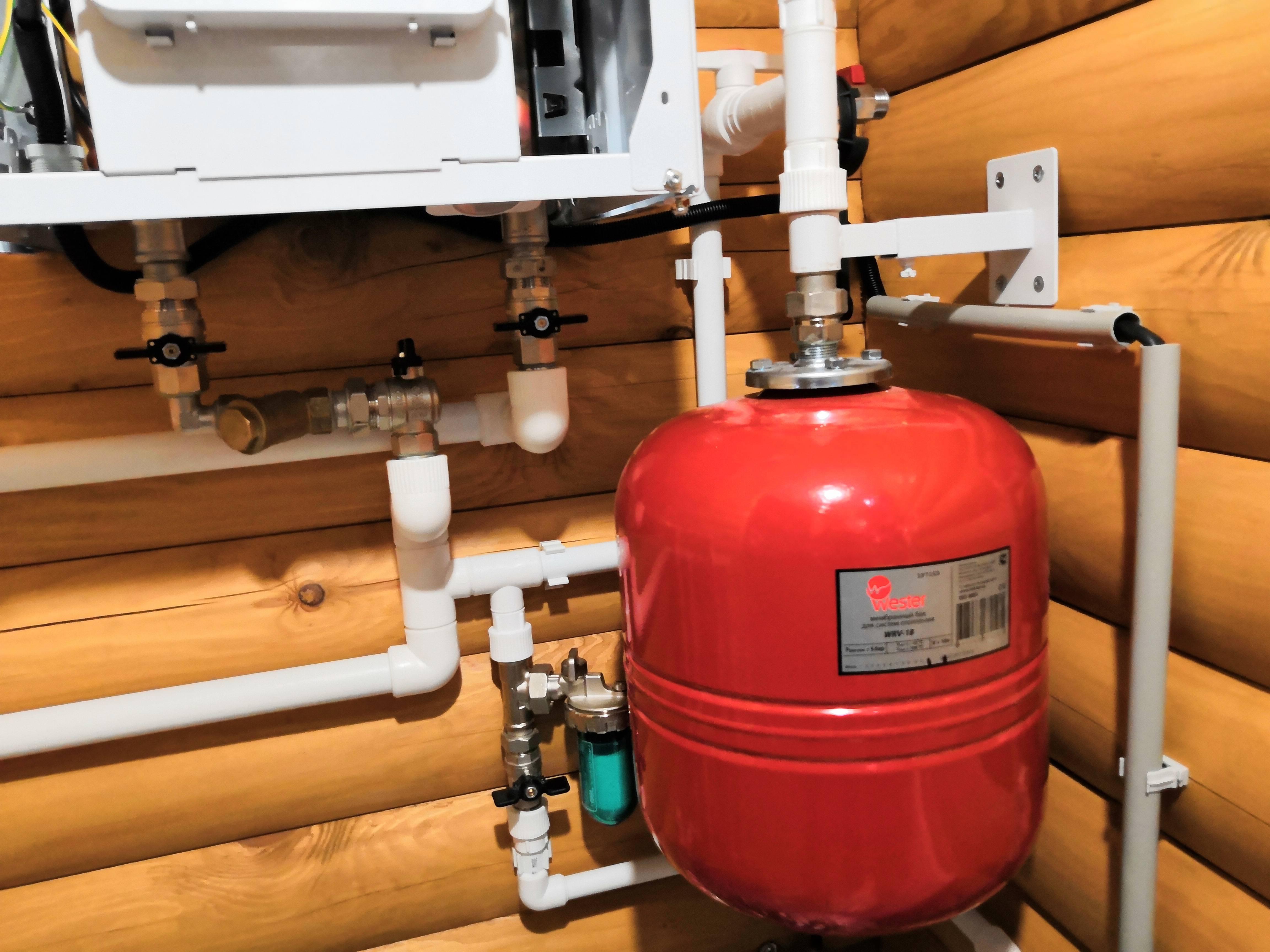 Устройство расширительного бака для водоснабжения