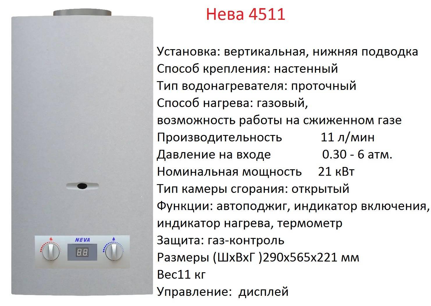 Топ 5 газовых колонок