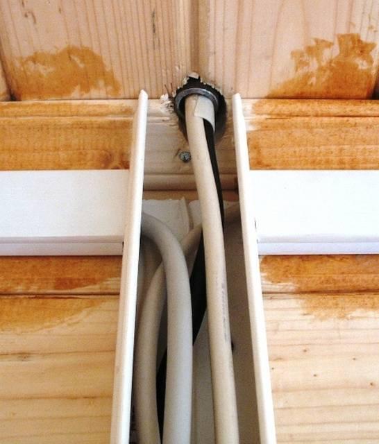 Электропроводка в деревянном доме, строгие критерии безопасности