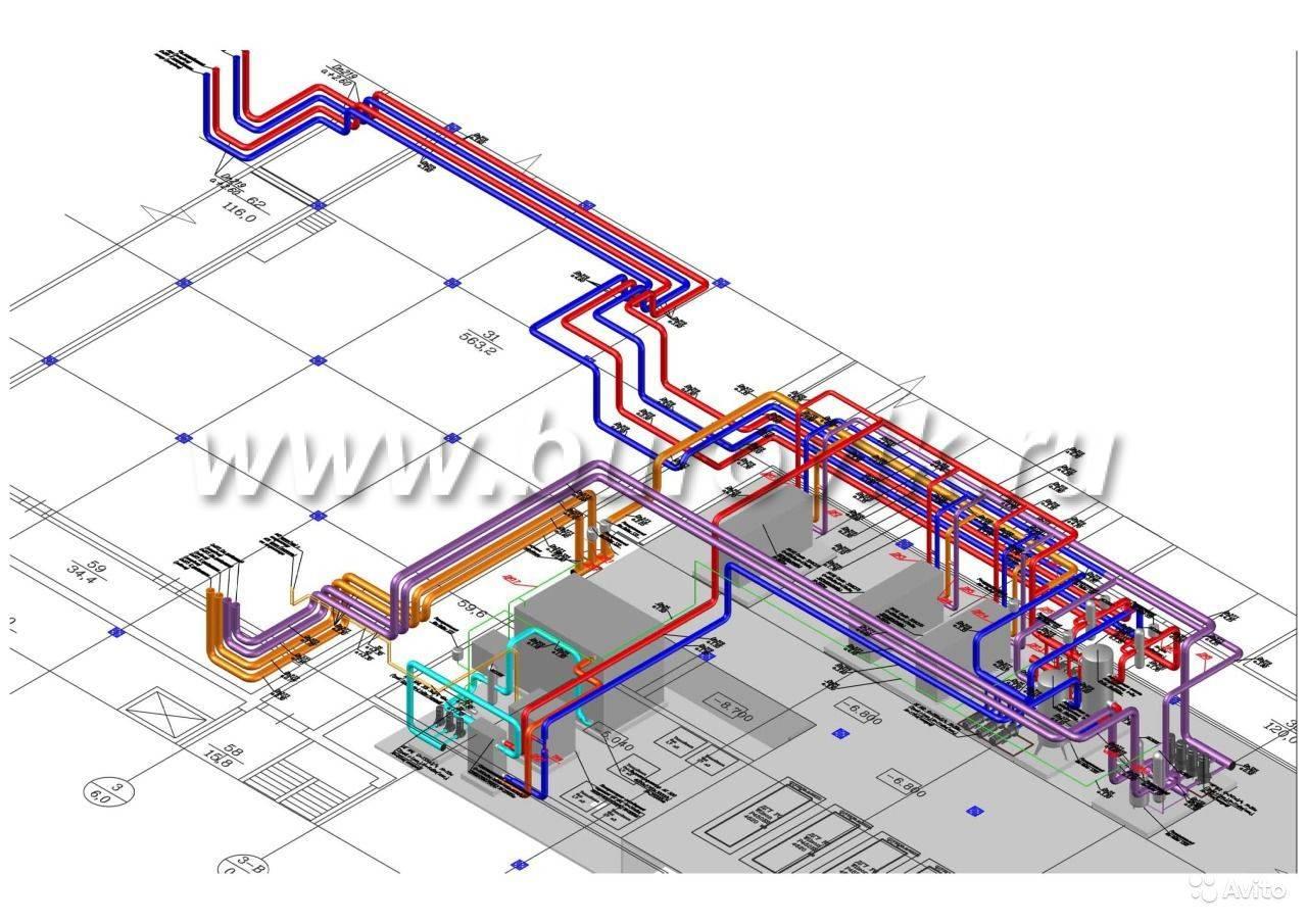 Проект отопления частного дома - система отопления