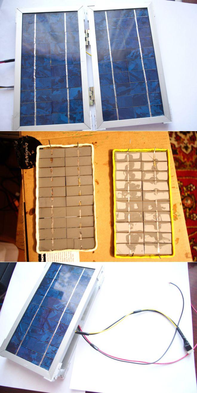 Как сделать солнечную батарею, принцип ее работы, способы изготовления