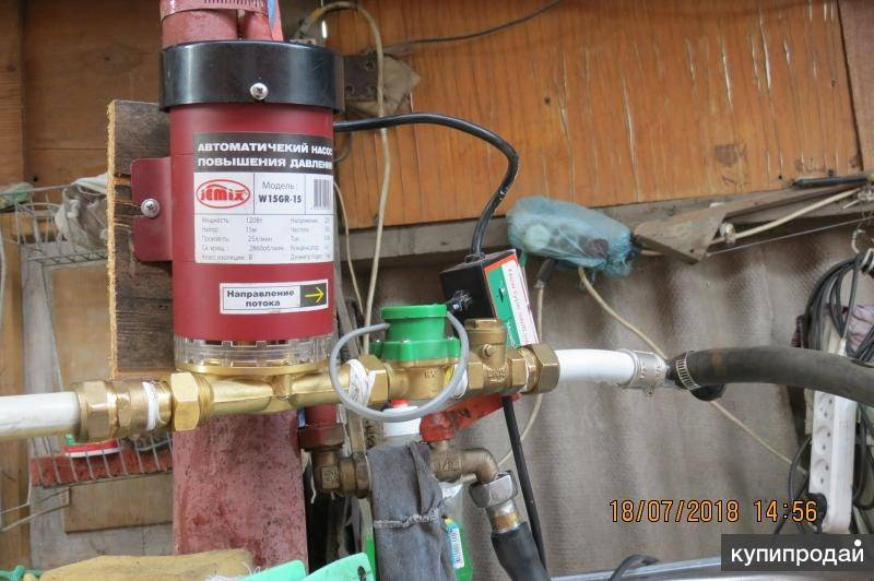 Насос для повышения давления воды в квартире или частном доме