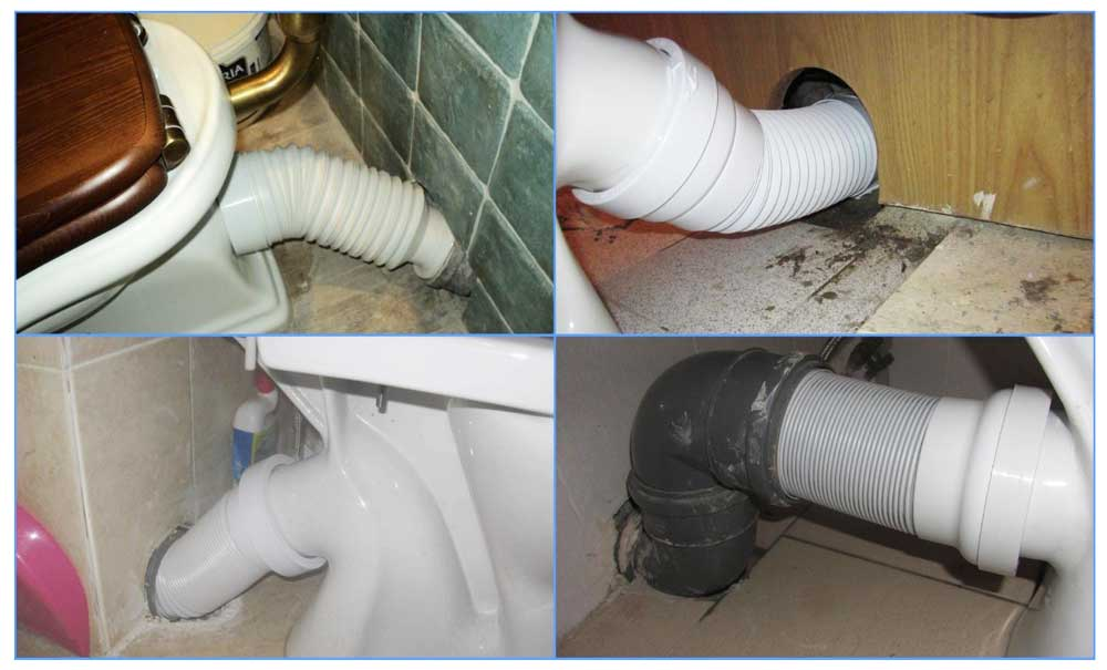 Замена гофры унитаза - все о канализации