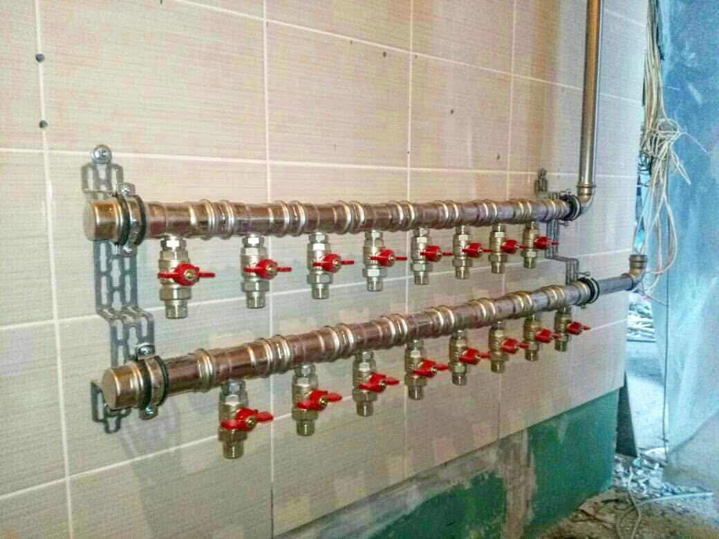 Распределительная гребенка для системы отопления