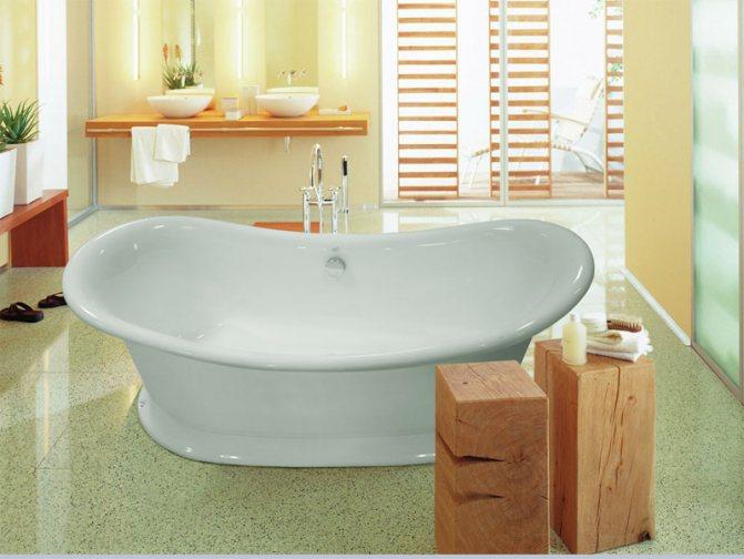Как выбрать лучшую ванну: виды, из каких материалов бывают и чем различаются