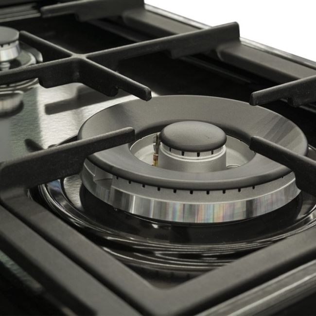 Как очистить решётку газовой плиты: чугунную, эмалированную, металлическую