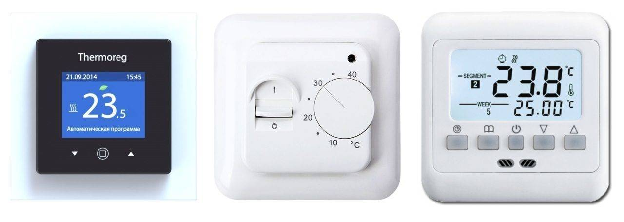 Схемы подключения терморегулятора к водяному теплому полу
