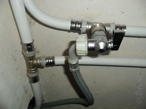 Опрессовка труб теплого пола, водоснабжения, отопления