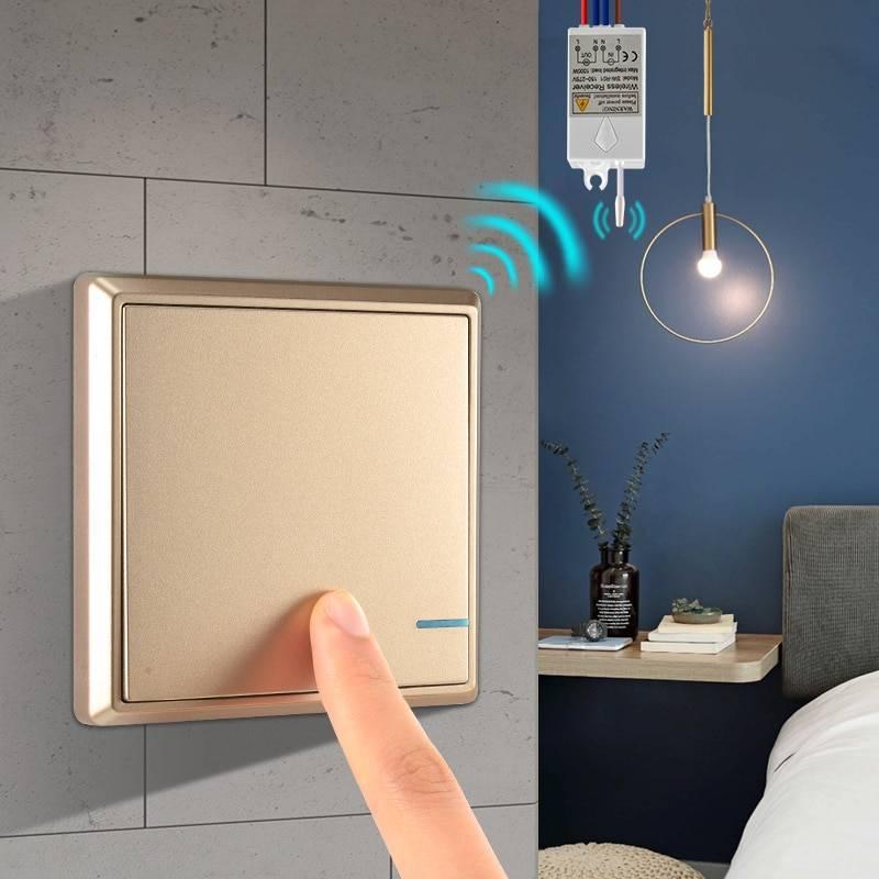 Почему беспроводные выключатели для света гораздо лучше обычных