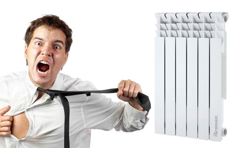 10 причин: почему труба стояка горячая, а батарея холодная, причины и что делать