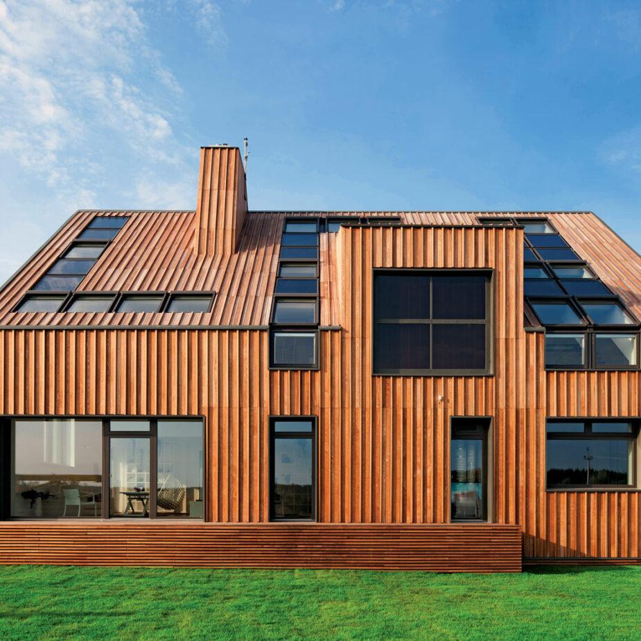 Энергоэффективные дома, покрывающие расходы за тепло и электричество | крамола