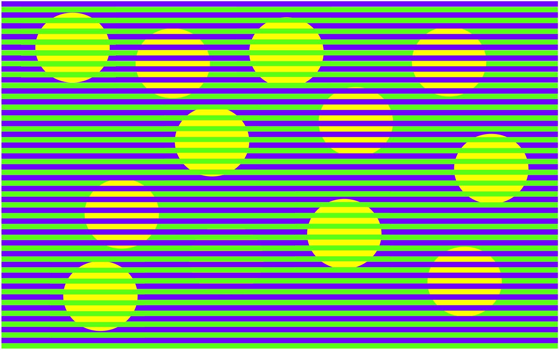 Тест на внимательность: какого цвета шарики на картинке?