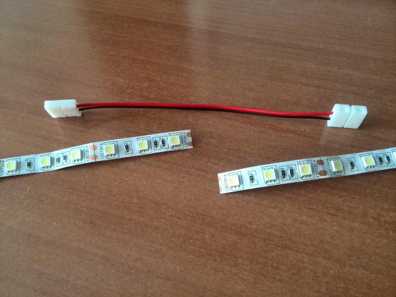 Как соединить led ленту - паять или соединить коннекторами?