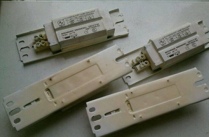 Балласт для люминесцентных ламп - назначение и устройство