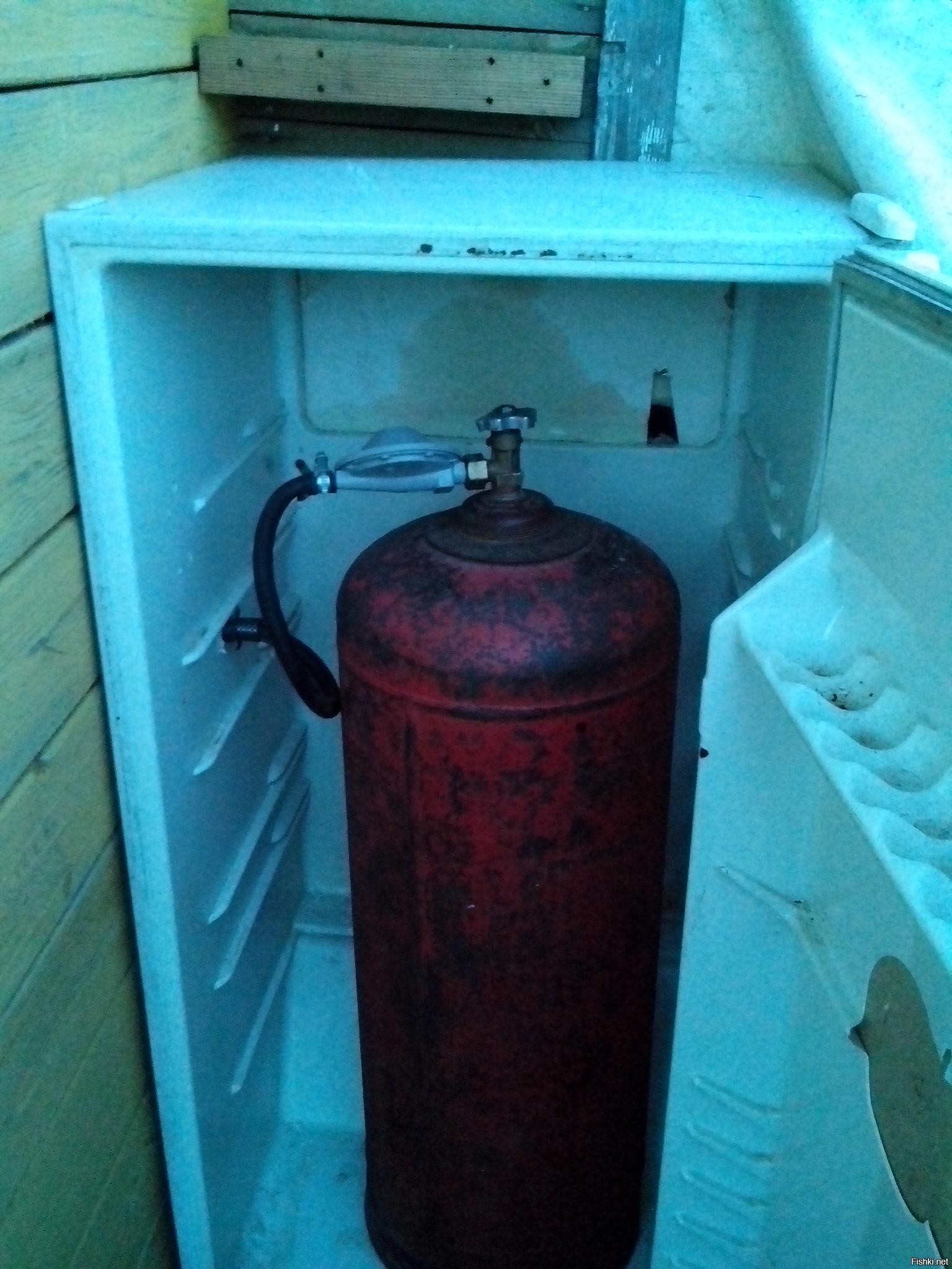 Принцип работы газовых холодильников