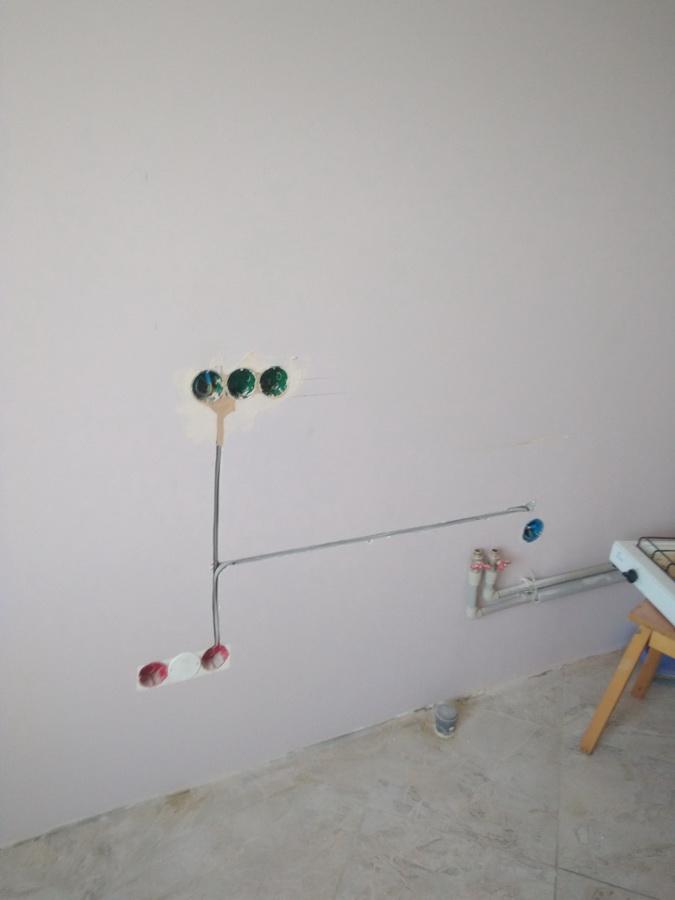 Перенос выключателя без штробления