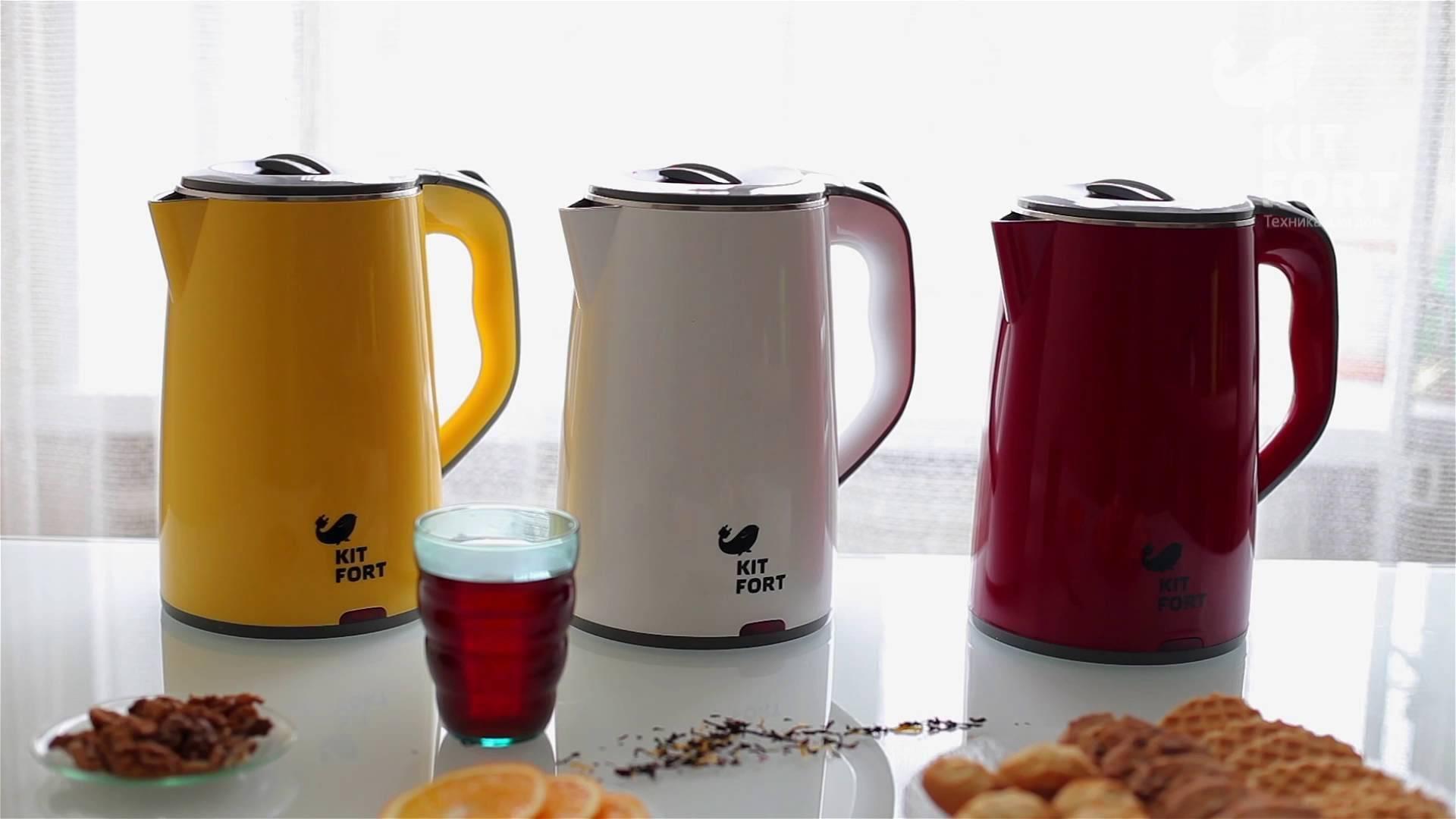 Как выбрать электрический чайник, модели, характеристики, функции
