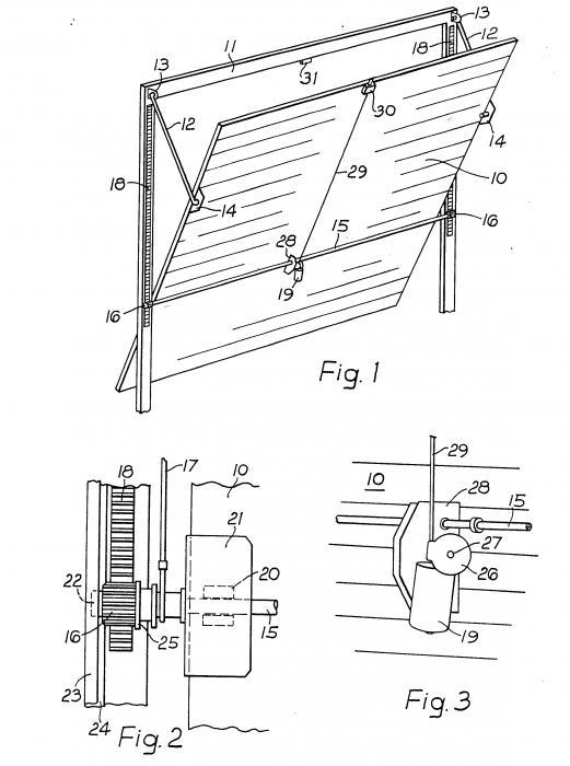 Пошаговая инструкция по изготовлению складных ворот для гаража своими руками