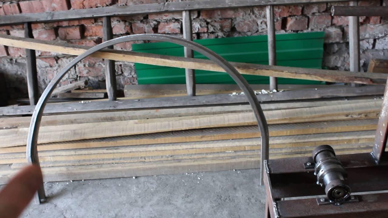 Как согнуть профильную трубу: способы и процесс гибки трубогибом, советы и рекомендации