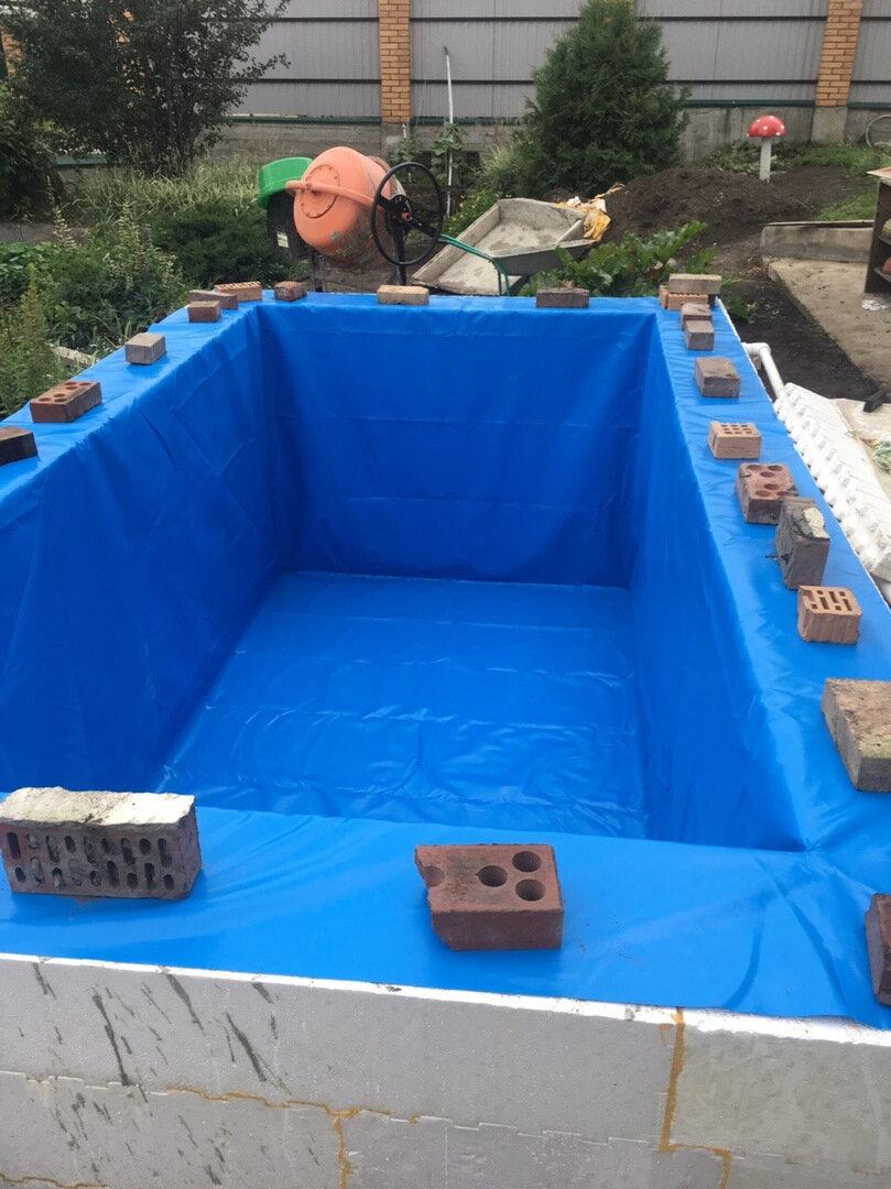 Установка каркасного бассейна на даче своими руками