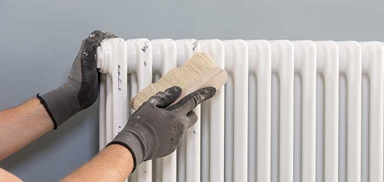 Краска для радиаторов (батарей) отопления