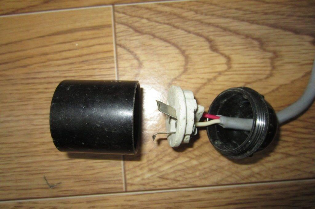 Подключение патрона для лампочки в зависимости от типа патрона