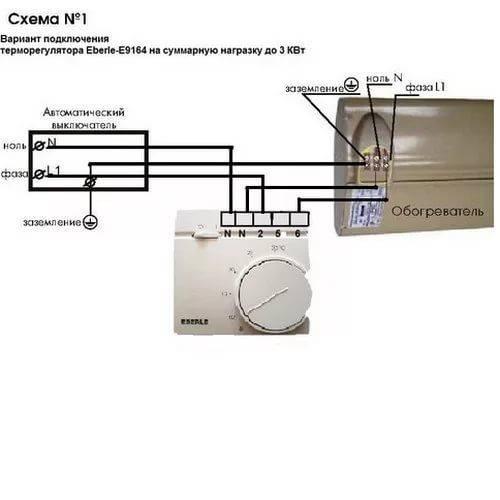 Терморегулятор для инфракрасного обогревателя - выбор и подключение - вентиляция, кондиционирование и отопление