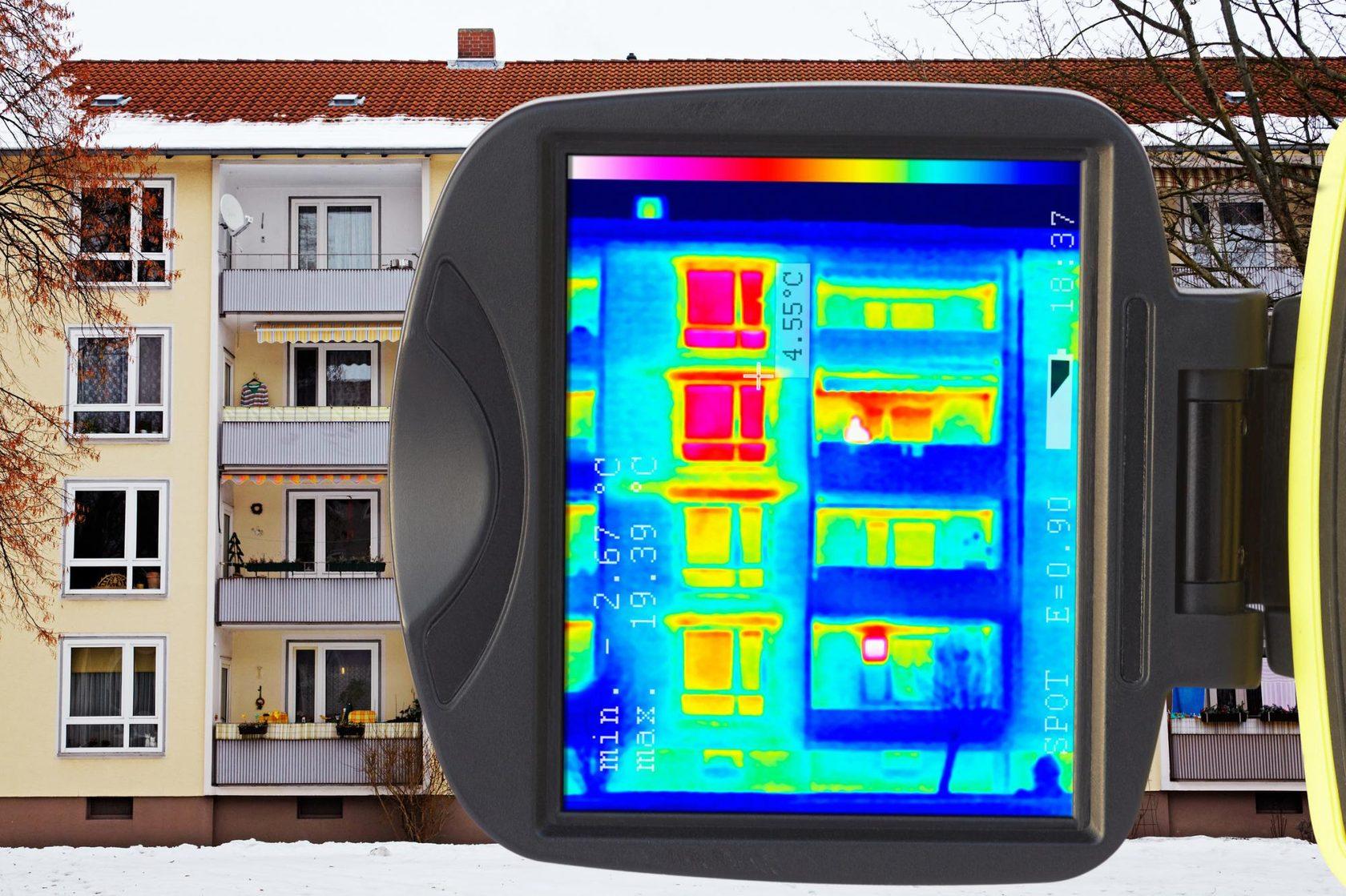 Обследование дома тепловизором: проведение тепловизионного анализа