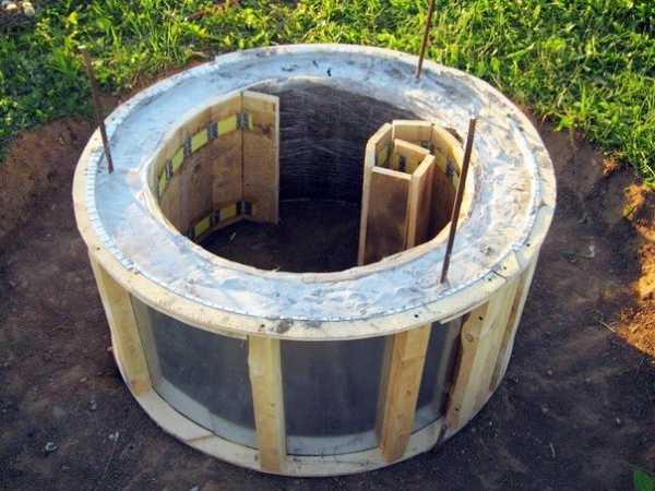 Форма для бетонного кольца. | весёлый карандашик