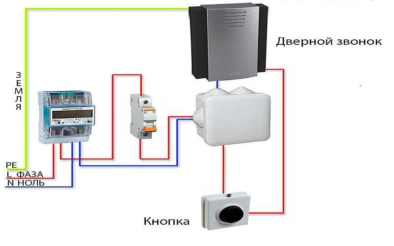 Подключение дверного звонка: инструкция по подключению