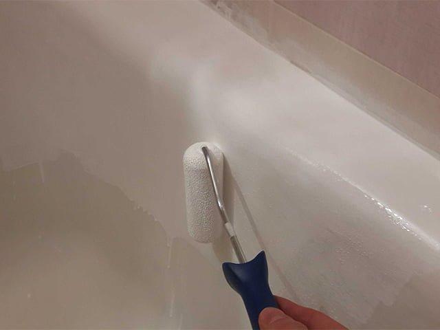 Технология поэтапной эмалировки чугунной ванны