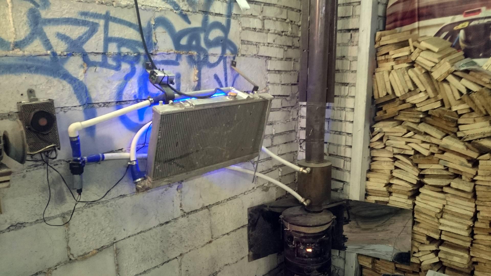 Как смонтировать отопление в гараже своими руками, самые экономные способы