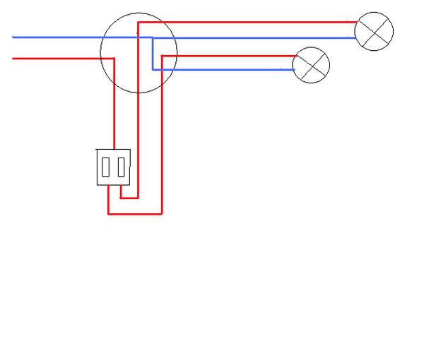 Как подключить двойной выключатель на две лампочки - инструкция со схемой