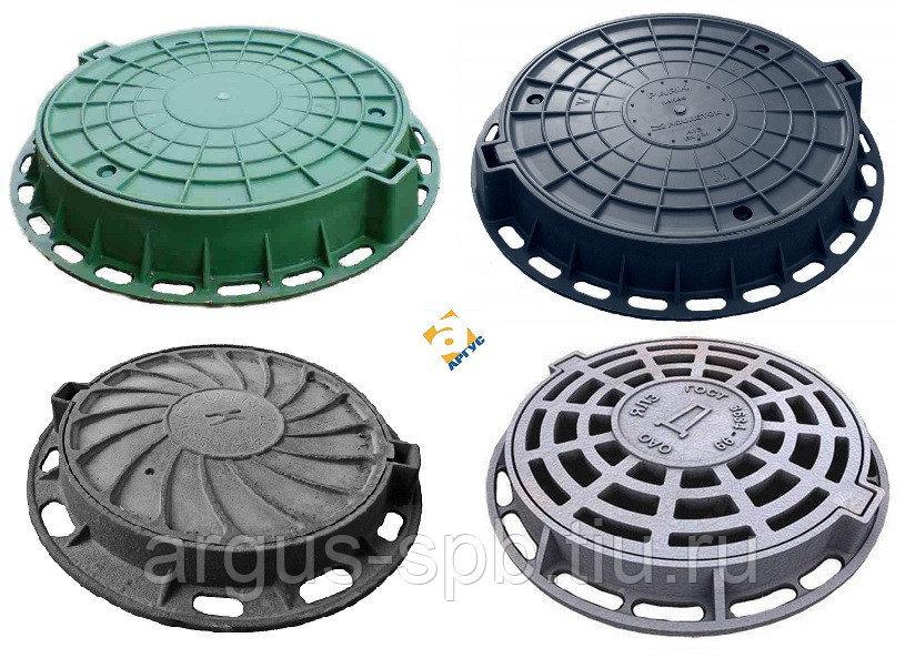 Люки канализационные: полимерные, чугунные – выбор и установка