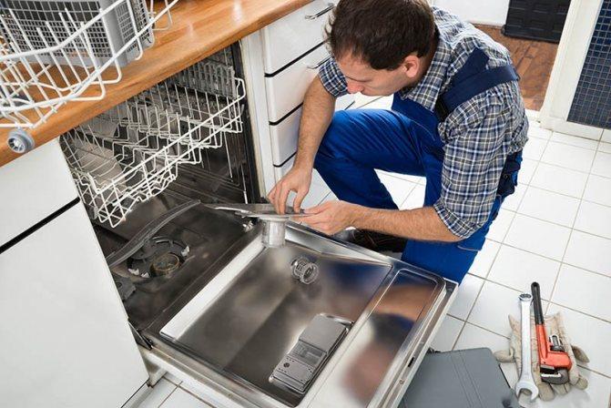 Правила установки и подключения посудомоечной машины