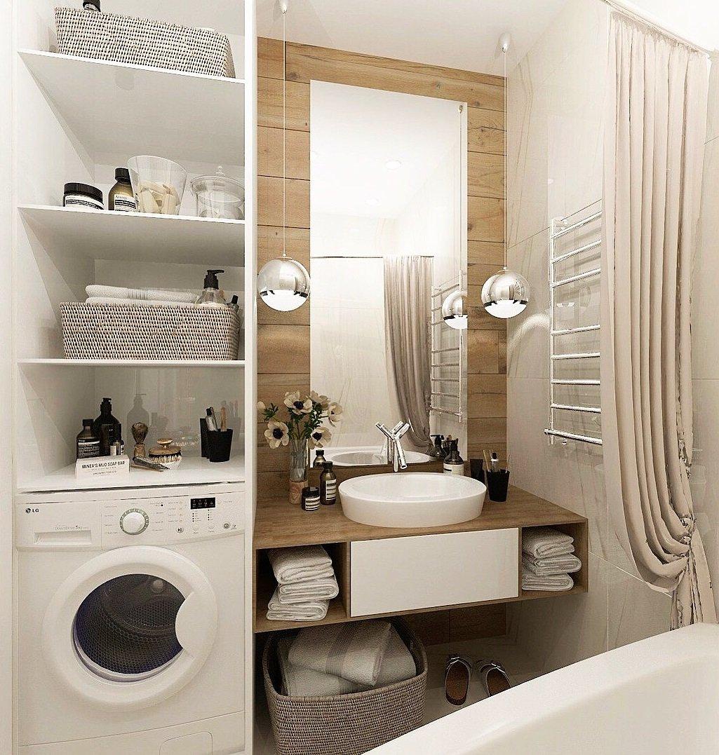 11 идей для дизайна маленькой ванной комнаты с фото