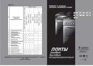 Сколько можно эксплуатировать газовые плиты разных производителей? срок службы устройства