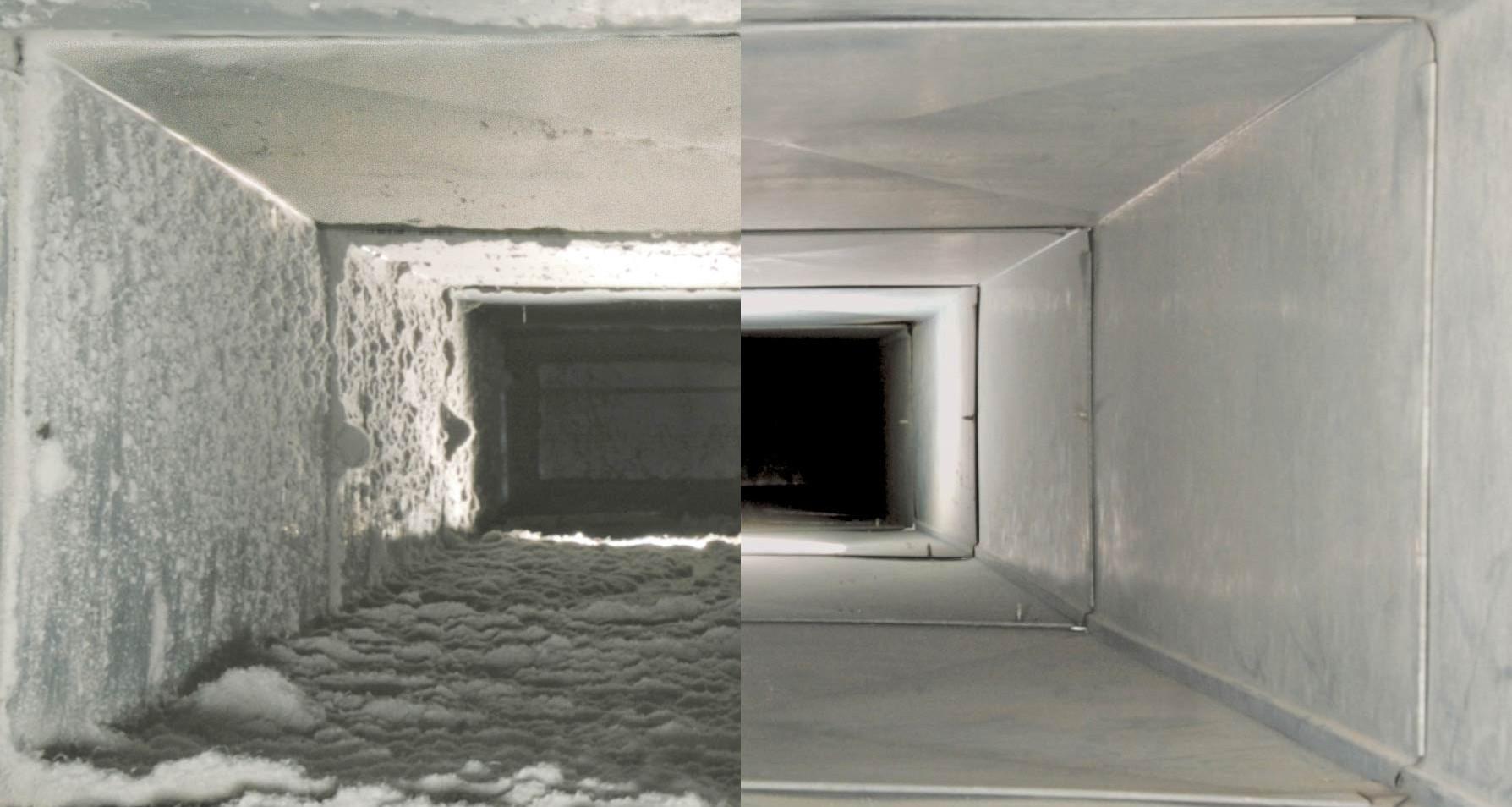 Чистка вентиляции в многоквартирном доме: этапы клининговых работ