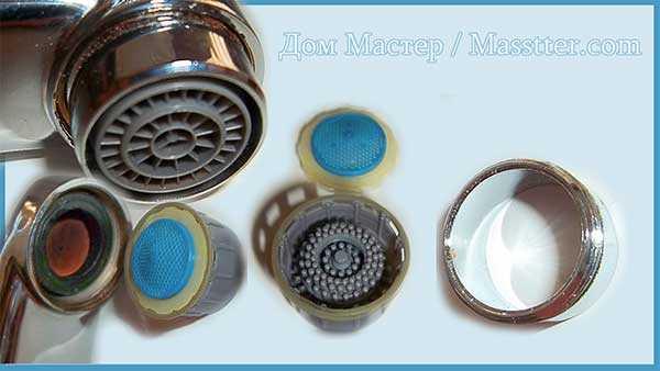 Как заменить или очистить аэратор воды для смесителя