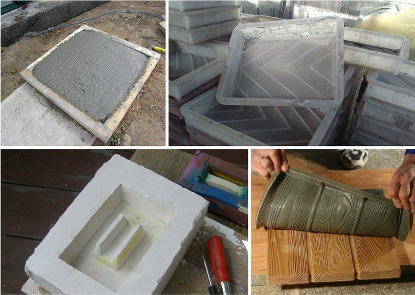 Формы для тротуарной плитки своими руками - этапы изготовления